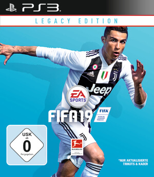 Legacy Edition für PlayStation 3: Am 28. September 2018 erschienen. Kaum Änderungen zu FIFA 18, PS4 Version enthält deutlich mehr Funktionen