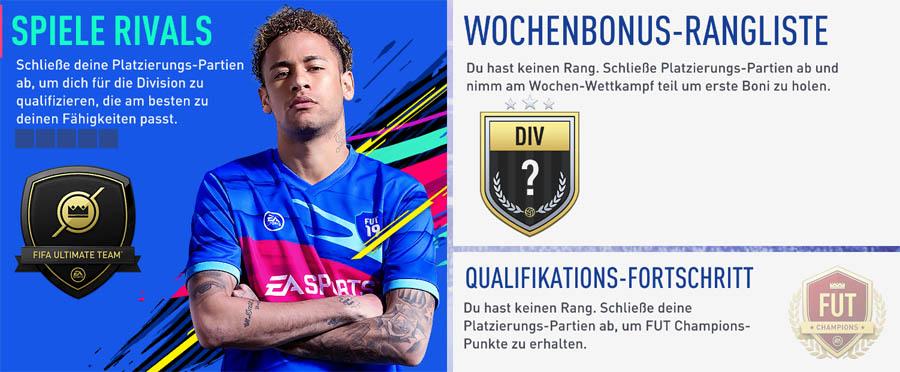 Division Rivals: Zeige dein Können gegen andere Mitspieler und qualifiziere dich für die FUT Champions Weekend League