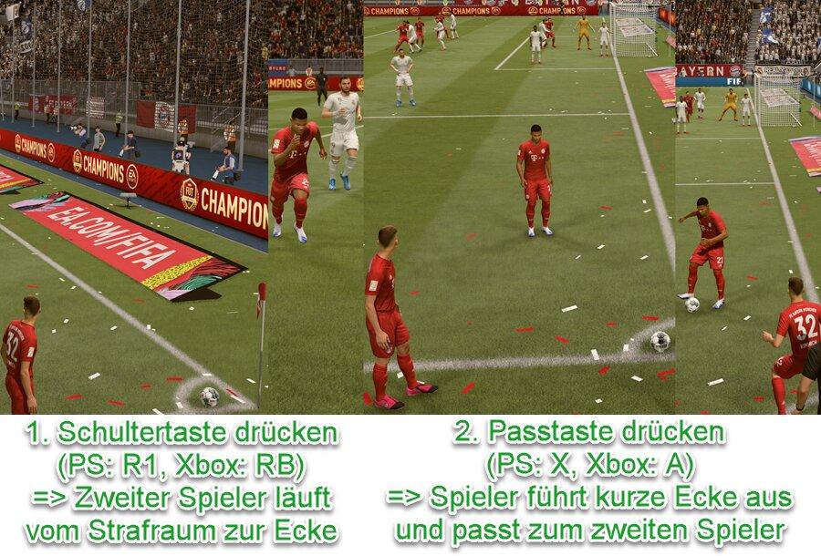 FIFA 21 Kurze Ecke