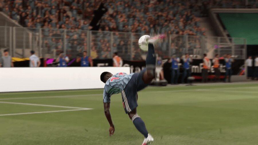 FIFA 22 Flair-Schuss