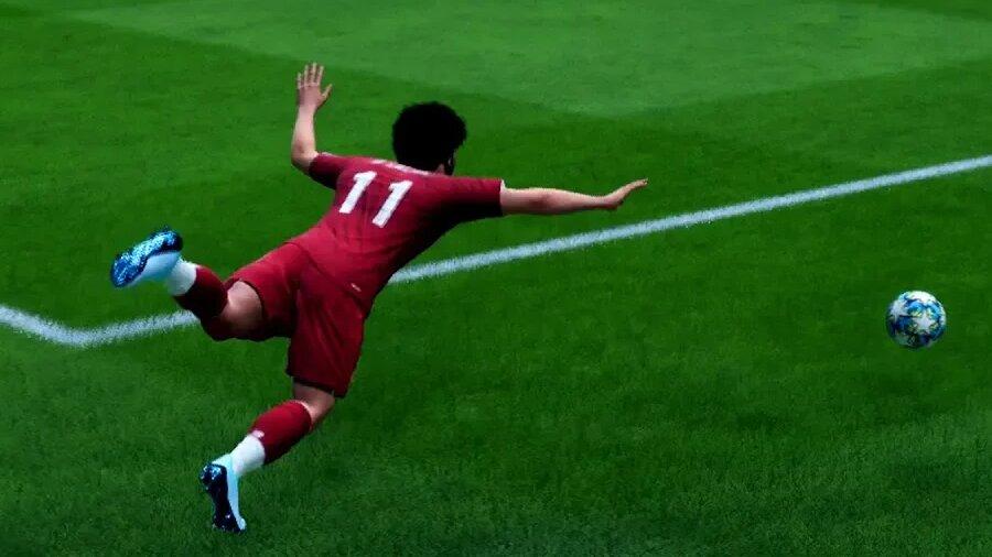 FIFA 21 Schwalbe machen