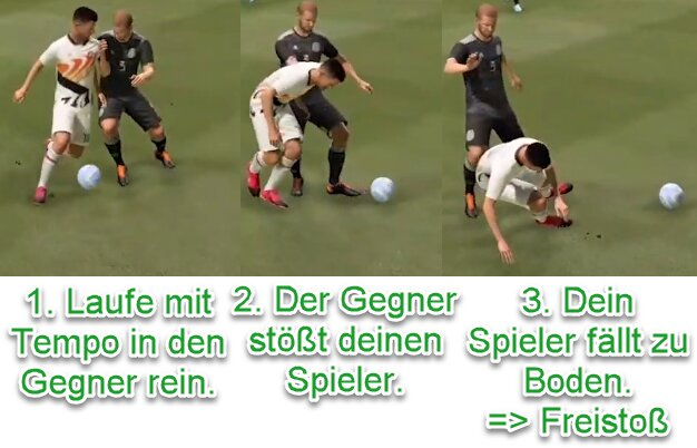 FIFA 22 Mehr Fouls kriegen