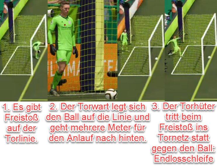 FIFA 22 Freistoß-Bug