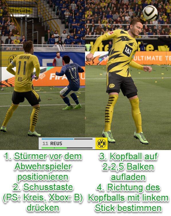 FIFA 21 Kopfballduell gewinnen