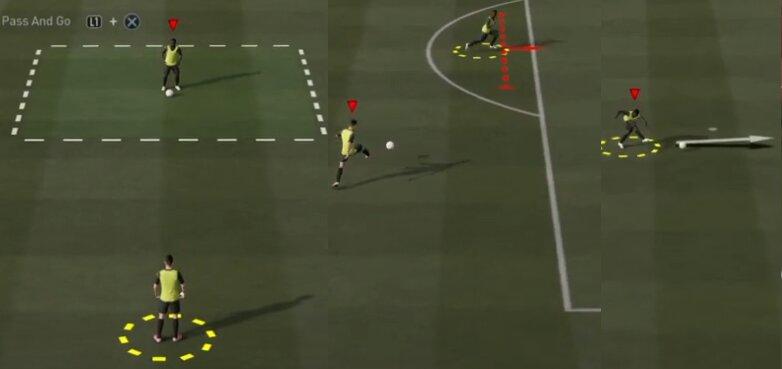 FIFA 21 Doppelpass Skill-Spiel