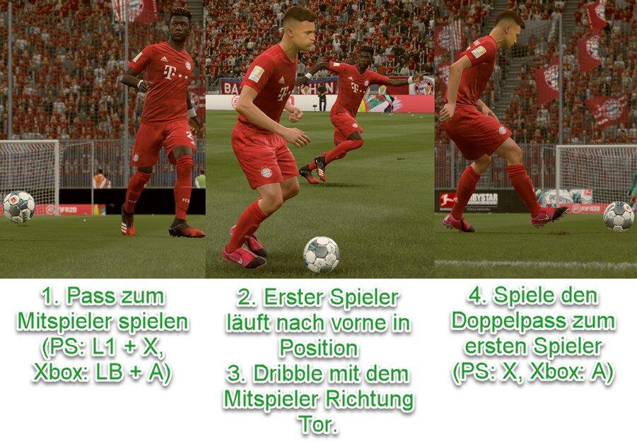 FIFA 21 Doppelpass