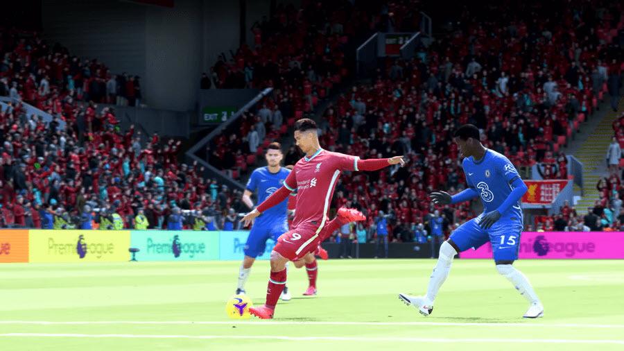 FIFA 22 Flacher Vollspannschuss