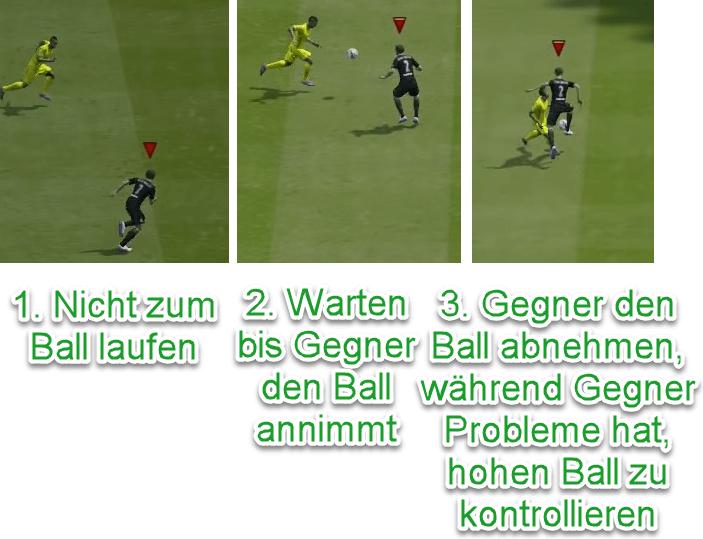 FIFA 21 Hohen Steilpass verteidigen