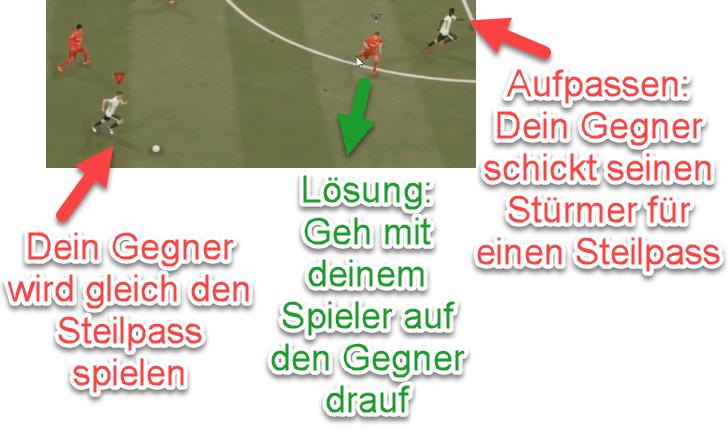 FIFA 21 OP-Steilpass verteidigen