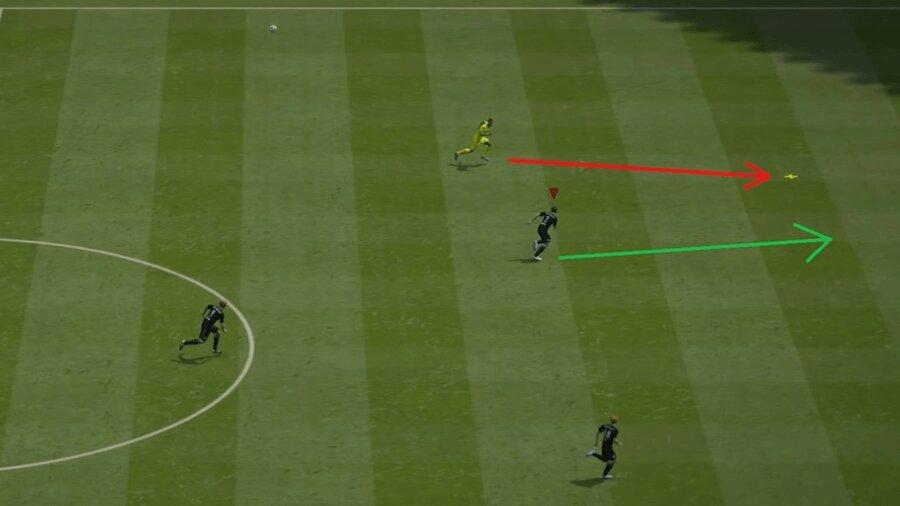FIFA 21 Steilpass verteidigen