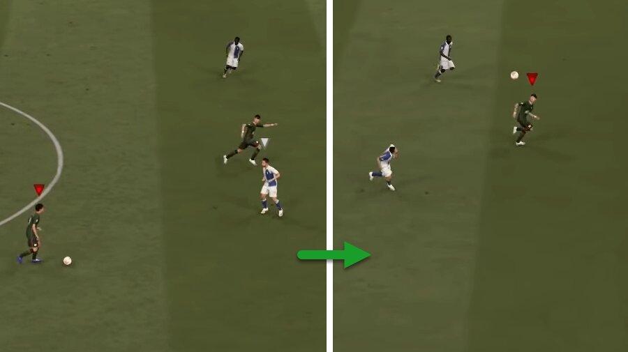 FIFA 21 Hoher Steilpass