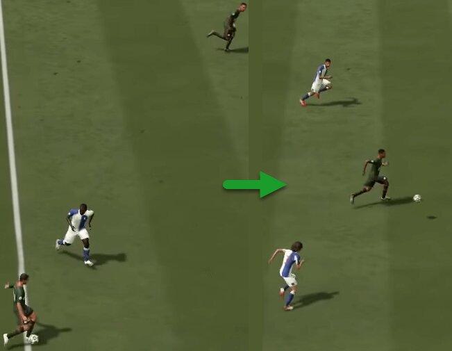 FIFA 21 Langer Steilpass