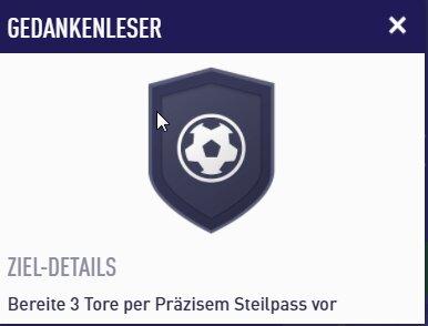 FIFA 22 Präziser-Steilpass-Aufgabe