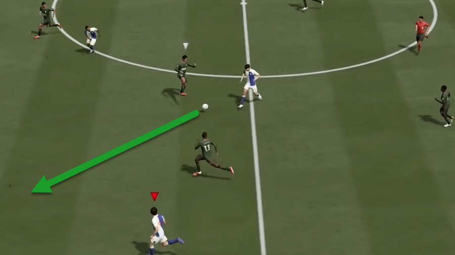 FIFA 22 Flacher Steilpass