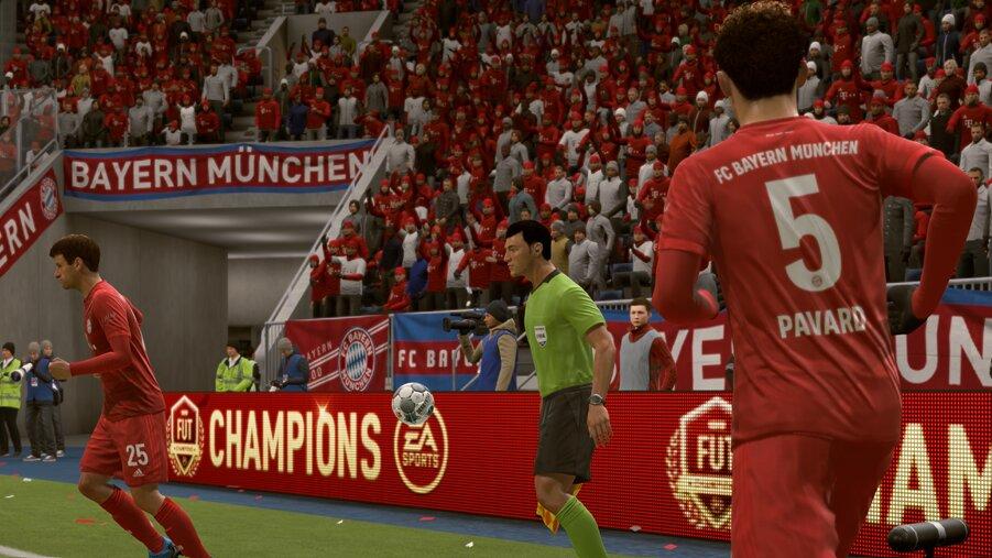 FIFA 21 Einwurf-Spieler wechseln