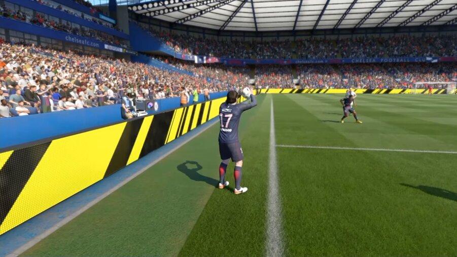 FIFA 22 Fake-Einwurf