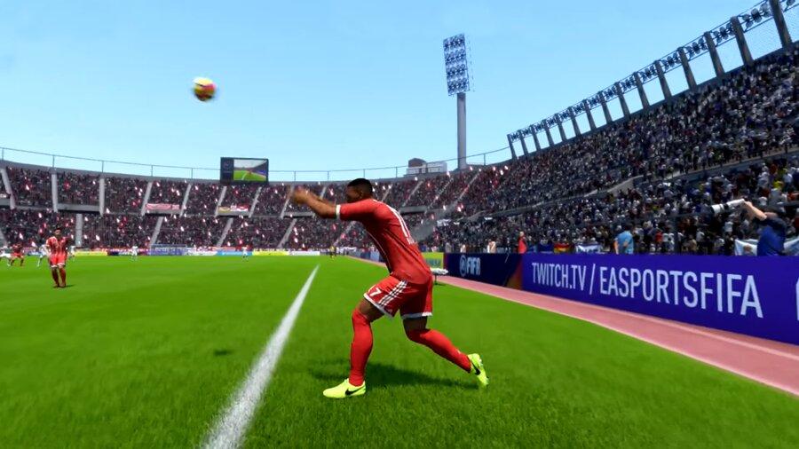 FIFA 21 Langer Einwurf