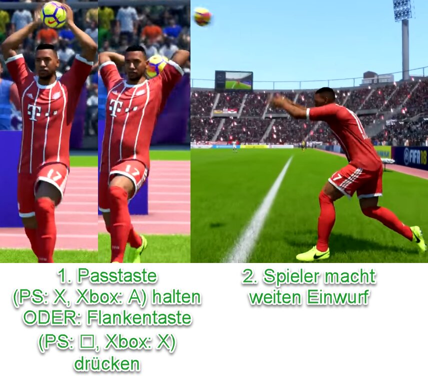FIFA 21 Weiter Einwurf