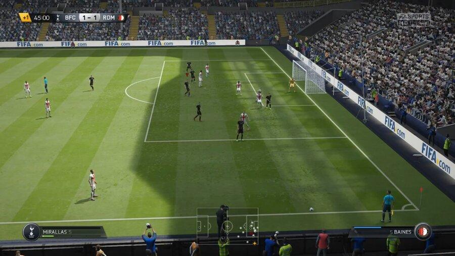 FIFA 22 Einwurf-Bug