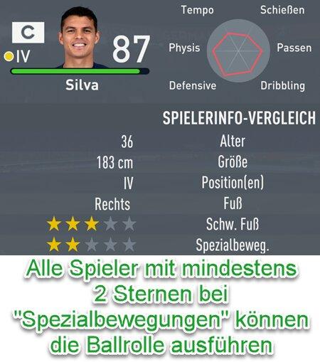 FIFA 22 Ballrolle 2-Sterne-Spezialbewegung