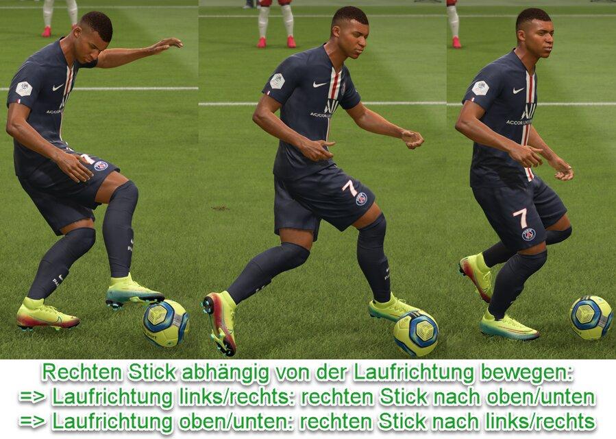 FIFA 22 Ballrolle Tastenkombination